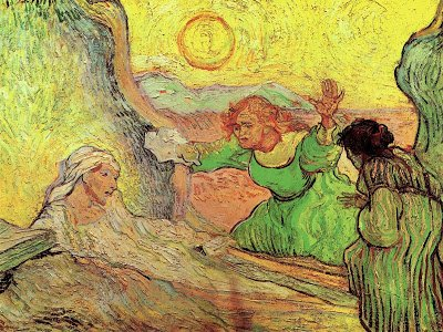 The raising of Lazarus by Vincent Van Gogh