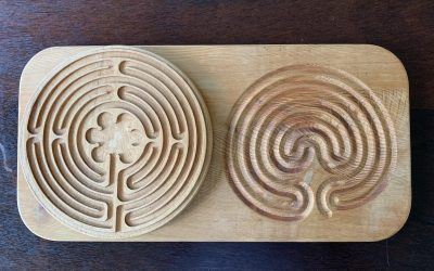 Not One But Two!  Two Labyrinth Walks this Friday
